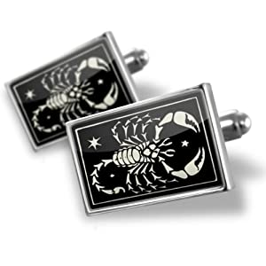 manschettenkn pfe sternzeichen skorpion 24 oktober 22 november cufflinks echte. Black Bedroom Furniture Sets. Home Design Ideas