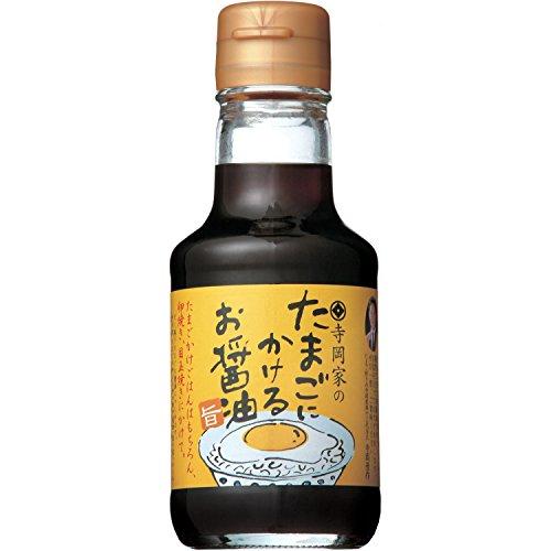 寺岡有機醸造 寺岡家のたまごにかけるお醤油 150ml
