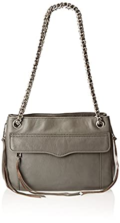 Rebecca Minkoff Swing Shoulder Bag,Charcoal,One Size