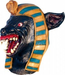 Anubis Large Head Neck Mask Fancy Dress Costumes Halloween Outfits by Ghoulish Productions