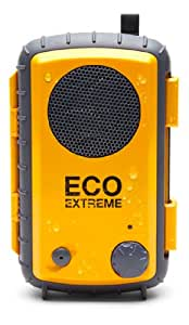 Grace Digital GDI-AQSCE104 Eco Extreme Waterproof Floating Case with Built-In Speaker for iPod, iPhone, Droid, and MP3 Players (Yellow)