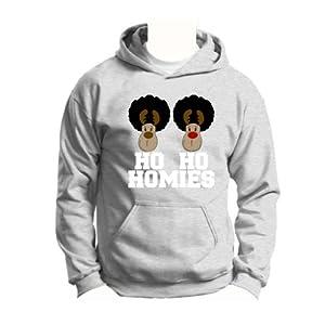 Ho Ho Homies Reindeer Youth Hoodie Sweatshirt
