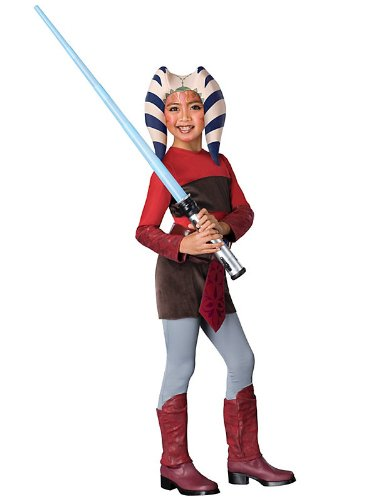 Star Wars Animated Ahsoka Child Costume (As Shown;Large)