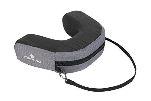 Ferrino Baby Carrier Headrest Cushion Cuscino per Zaino Porta Bimbo, Nero