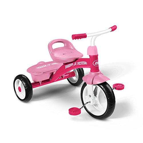 Find Discount Radio Flyer Rider Trike Ride On, Pink
