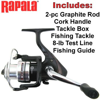 SPINNING ROD & REEL COMBO KIT