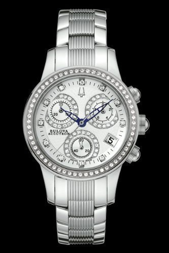 Bulova Accutron Masella Diamond Women's Chronograph Watch 63R34