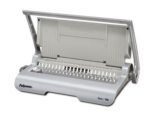 "Binding Machine, 3/4"" Comb, 150Sht Cap, Silver, Sold as 1 Ea"