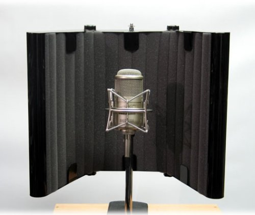 SM Pro Audio Mic Thing w/ Stand Microphone Isolation Panel