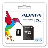 【Amazonの商品情報へ】ADATA MicroSD メモリーカード 2GB Speedy+1Adapter AUSD2GZ-RA1