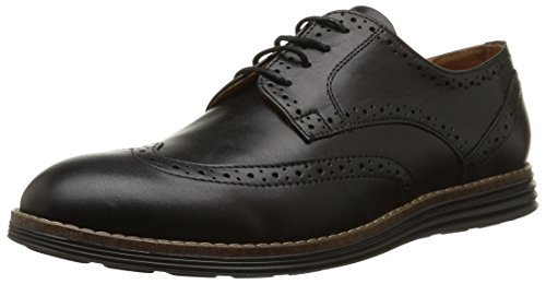 SchmoovePrism Brogue - Derby uomo , Nero (Noir (Fargo Black)), 44