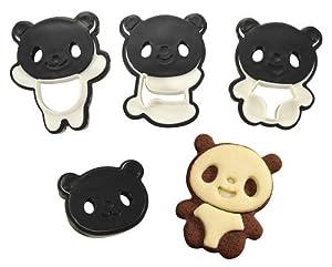 CuteZcute Panda Cookie Cutter Set by CuteZCute
