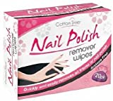 Cotton Tree - Nail Polish Remover Wipes - 20 Pack