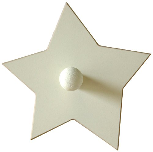 New Arrivals Small Star Peg, White