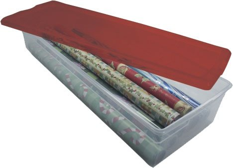IRIS Holiday Wrapping Paper Storage Box