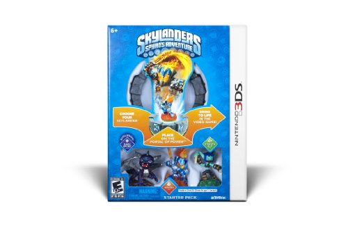 Skylanders Spyro's Adventure Starter Pack - Nintendo 3DS (Skylanders Dark Spyro Figure compare prices)