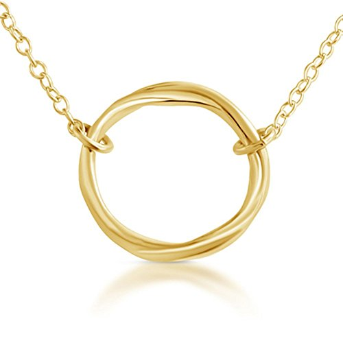 gold-plated-925-sterling-silver-karma-ring-circle-of-life-necklace-18-inches