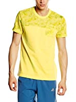 adidas Camiseta Manga Corta Ess Ccs Ss Tee (Amarillo)