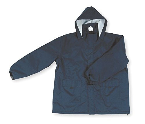 Condor 2PY78 Unisex Insulated Rain Jacket With Hood, Size 3XL, Navy, Polyurethane (Condor Insulated compare prices)