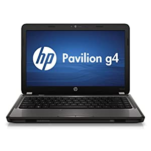"HP g4-1213nr Laptop AMD Dual Core A4-3300M 2.5GHz, 4GB, 500GB, AMD Radeon HD 6480G Graphics, 14"" HD BrightView LED-backlit, Webcam, DVD Write/Reader,VGA, HDMI, Windows 7 Home Premium 64-bit, Charcoal"
