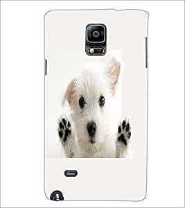 PrintDhaba Puppy D-2228 Back Case Cover for SAMSUNG GALAXY NOTE 2 (Multi-Coloured)