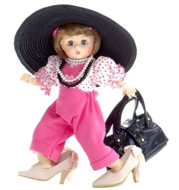"Madame Alexander Dressed Like Mommy 8"" Doll, Americana Collection front-469118"