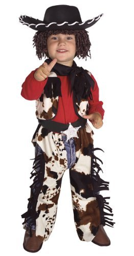 Toddler Cowboy Costume Size 2-4T