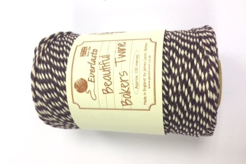everlasto-beautiful-cotton-bakers-twine-30-colours-100m-brown-100m