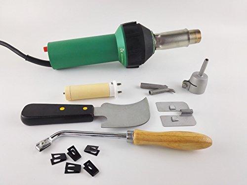 1600w Hot Air Torch Plastic Welding Gun Welder Pistol Flooring Tools Flooring Welding Kit (Blade Welder compare prices)