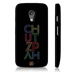 Be Awara Chutzpah Back Case for Moto G2