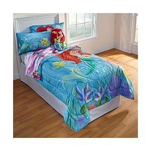 discount comforter sets ariel the little mermaid twin sheets set. Black Bedroom Furniture Sets. Home Design Ideas