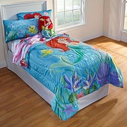 Disney Little Mermaid Comforter And Sheet Set front-734292