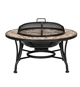 Verona Mosaic Fire Pit Coffee Table By Marks And Spencer Part 50