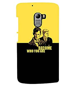 PRINTSHOPPII ATTITUDE QUOTE Back Case Cover for Lenovo Vibe K4 Note