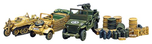 Academy Light Vehicles of Allied And Axis During WWII Model Kit - 1