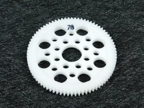 3Racing #3R/3Rac-Sg4878 48 Pitch Spur Gear 78T For Most Rc Cars