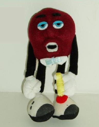Vintage Posable California Raisin With Microphone ~ Hardee'S 1988
