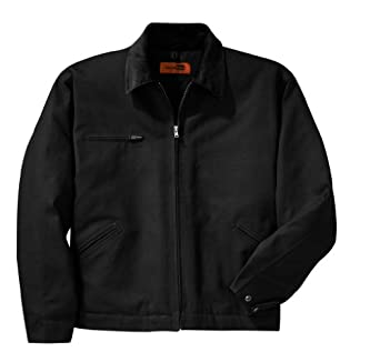 Work Jacket, Color: Black, Size: X-Small