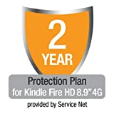 "2-Year Protection Plan plus Accident Protection for Kindle Fire HD 8.9"" 4G, US customers only"