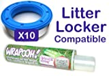 Litter locker compatible cassette liner from Wrapooh . Equivalent to approx 10 Litter locker cassettes. Please read description for details.