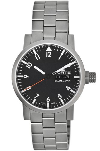 Fortis Men's 623.22.11 M Spacematic Day and Date Watch