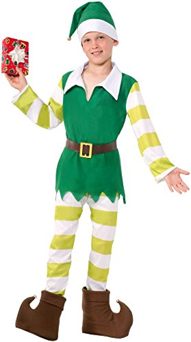 Little Boys' Jingles the Elf Christmas Costume