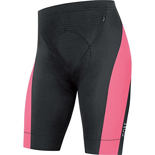 Gore Bike Wear Ttspow Short+ Power 3.0 Tights, Uomo, Nero (Black/Giro Pink), M