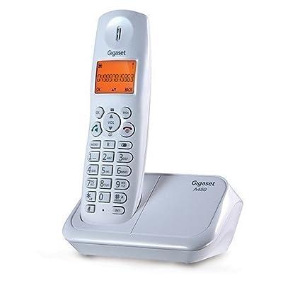 Gigaset A450 White cordless landline phone