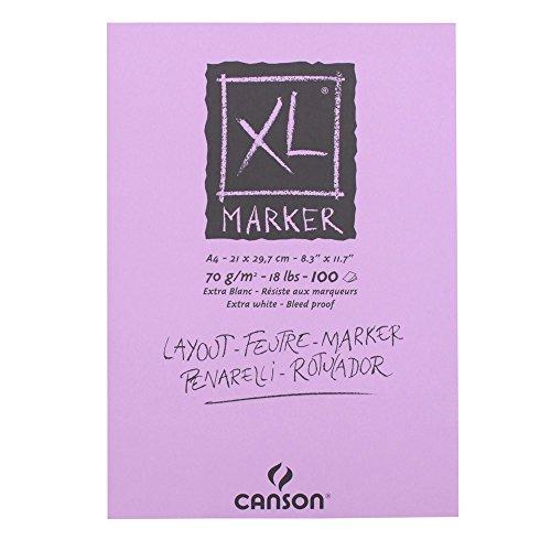 canson-297236-zeichenblock-xl-marker-din-a4-70-g-qm-100-blatt-weiss