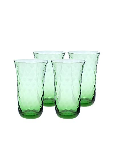 Padma Collection Optic 20-Oz. Coolers, Coriander, Set of 4