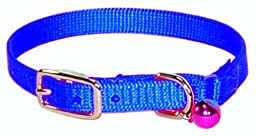 Hamilton Safety Cat Collar with Bell, Blue, 3/8\