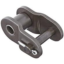 "Morse 140 O/L Standard Roller Chain Link, ANSI 140, 1 Strand, Steel, 1-3/4"" Pitch, 1"" Roller Diamter, 1"" Roller Width, 58000lbs Average Tensile Strength"