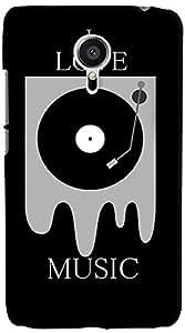 PrintVisa 3D-MEIZUMX5-D7881 Music DJ Quotes Back Cover for Meizu MX5