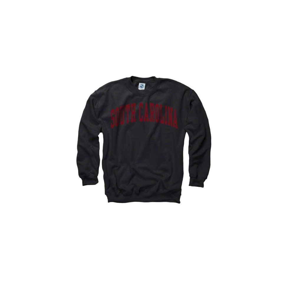 South Carolina Gamecocks Black Arch Crewneck Sweatshirt